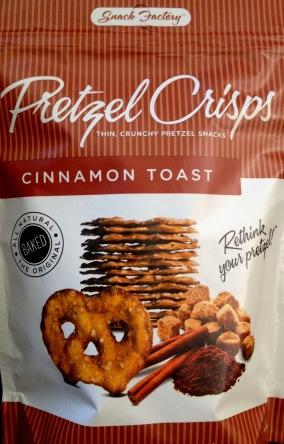 Pretzel Crisps - Cinnamon Toast chip review
