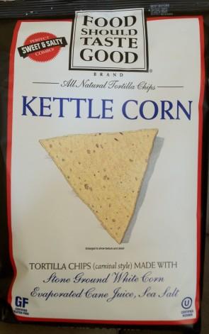 Food Should Taste Good - Kettle Corn Tortilla Chips
