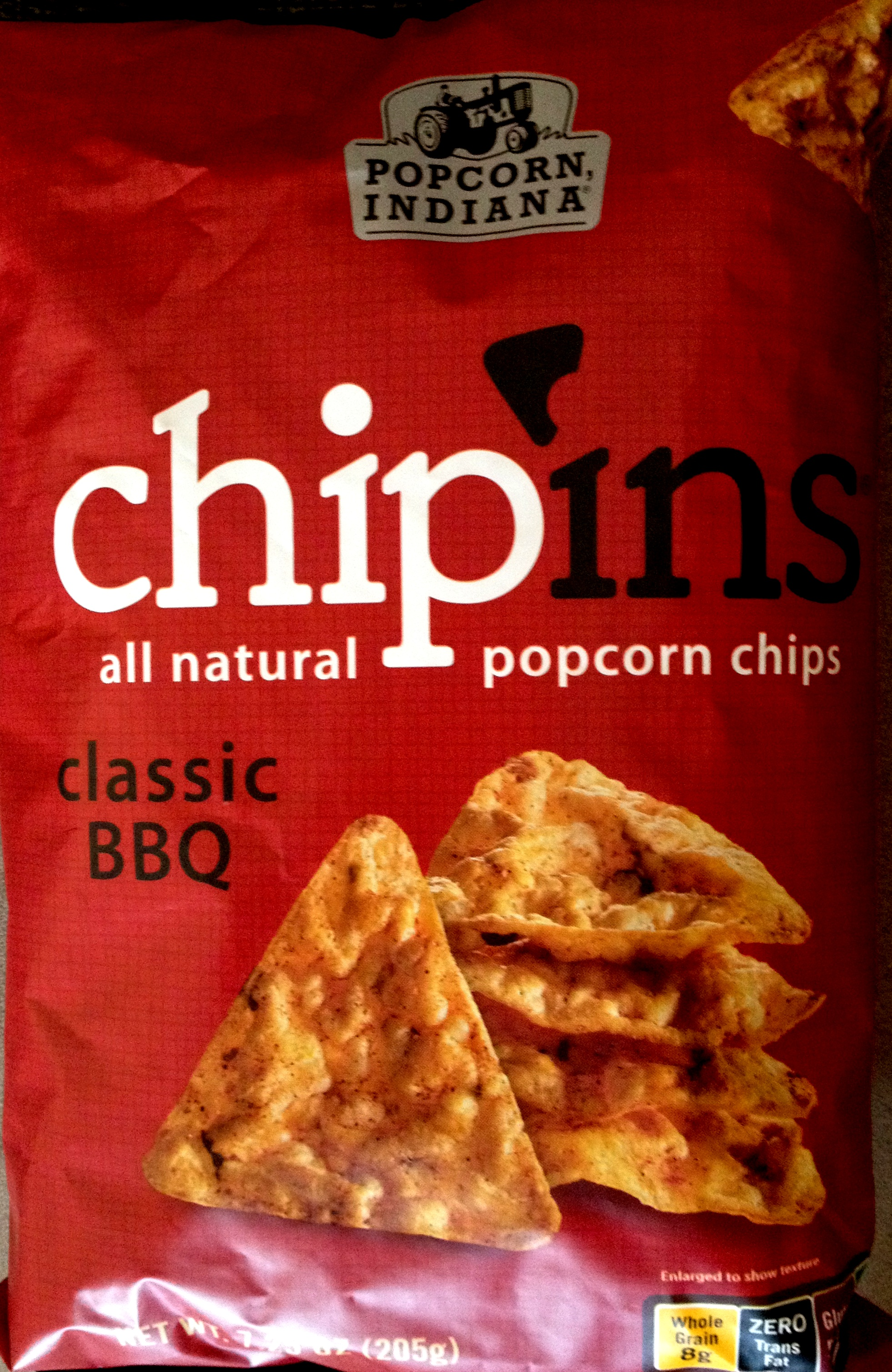 Popcorn, Indiana – Chip'ins Classic BBQ Popcorn Chips | Chip ...