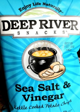 Review Deep River Snacks Sea Salt Amp Vinegar Kettle