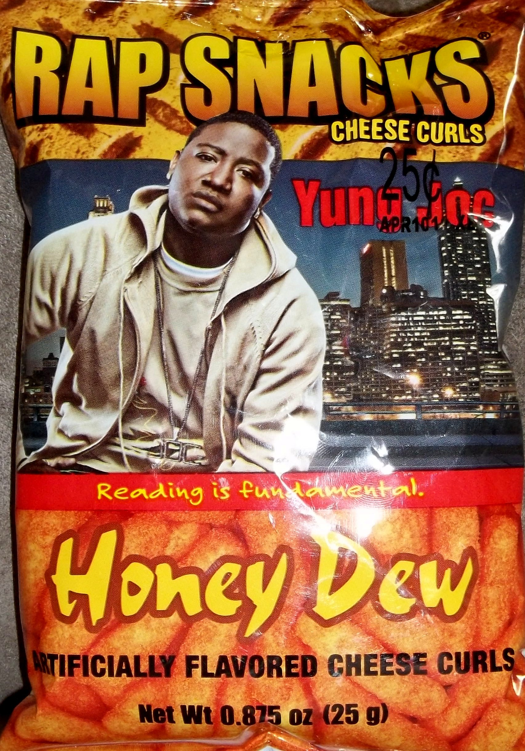... talk about something amazing I recently found out about: Rap Snacks