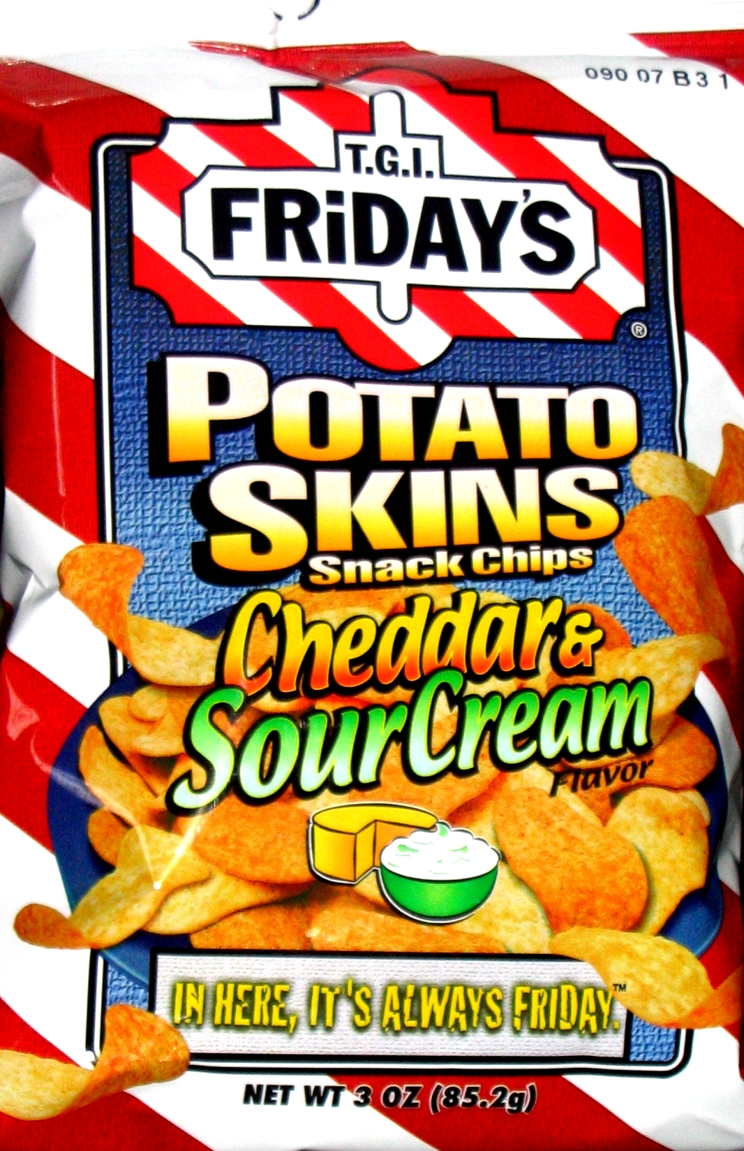 Tgif Potato Skins Chips Potato Skins Snack Chips