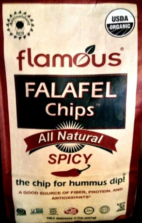 Flamous - Falafel Chips Spicy