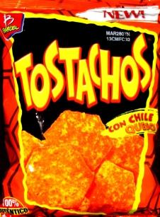 Barcels Tostachos con Chile Queso