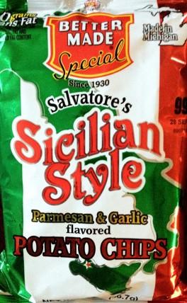 Better Made - Salvatore's Sicilian Style Parmesan & Garlic Potato Chips
