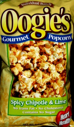 Oogies Spicy Chipotle & Lime Popcorn