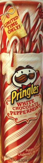 Pringles - White Chocolate Peppermint