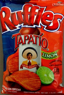 Ruffles - Tapatio Limon