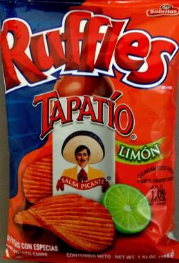Ruffles - Tapatio Limon