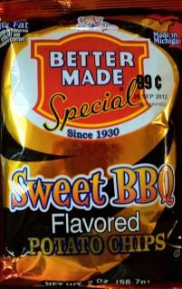 Better Made - Sweet BBQ Potato Chips