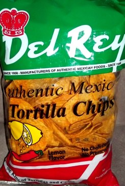 Del Rey - Lemon Flavor Tortilla Chips