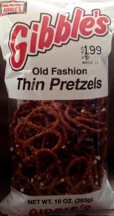 Gibble's - Old Fashion Thin Pretzels