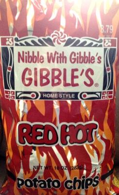 Gibble's - Red Hot Potato Chips