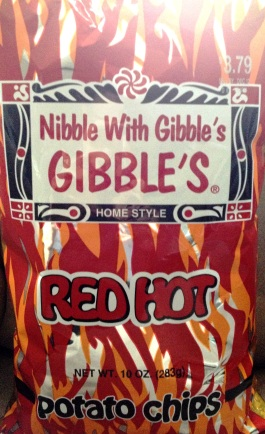 Gibble's - Red Hot Potato Chips