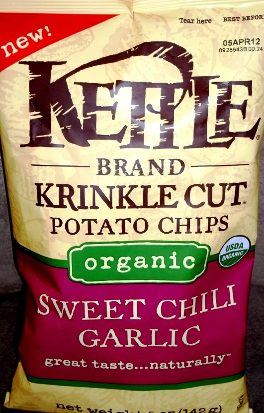 ... Brand – Organic – Krinkle Cut – Sweet Chili Garlic | Chip Review