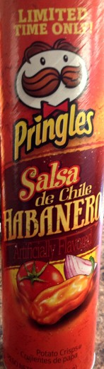 Pringles Limited Time Only! - Salsa de Chile Habanero