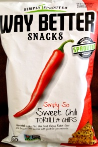 Simply Sprouted Way Better Snacks - Simply So Sweet Chili Tortilla Chips