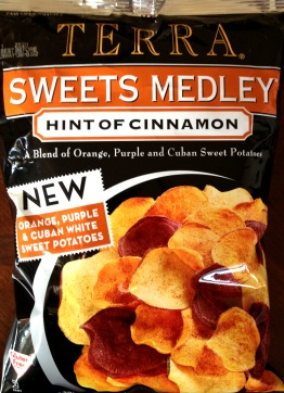 Terra - Sweets Medley - Hint of Cinnamon - Orange, Purple, Cuban Sweet Potato Chips