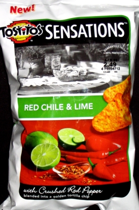 Tostitos Sensations Red Chili & Lime