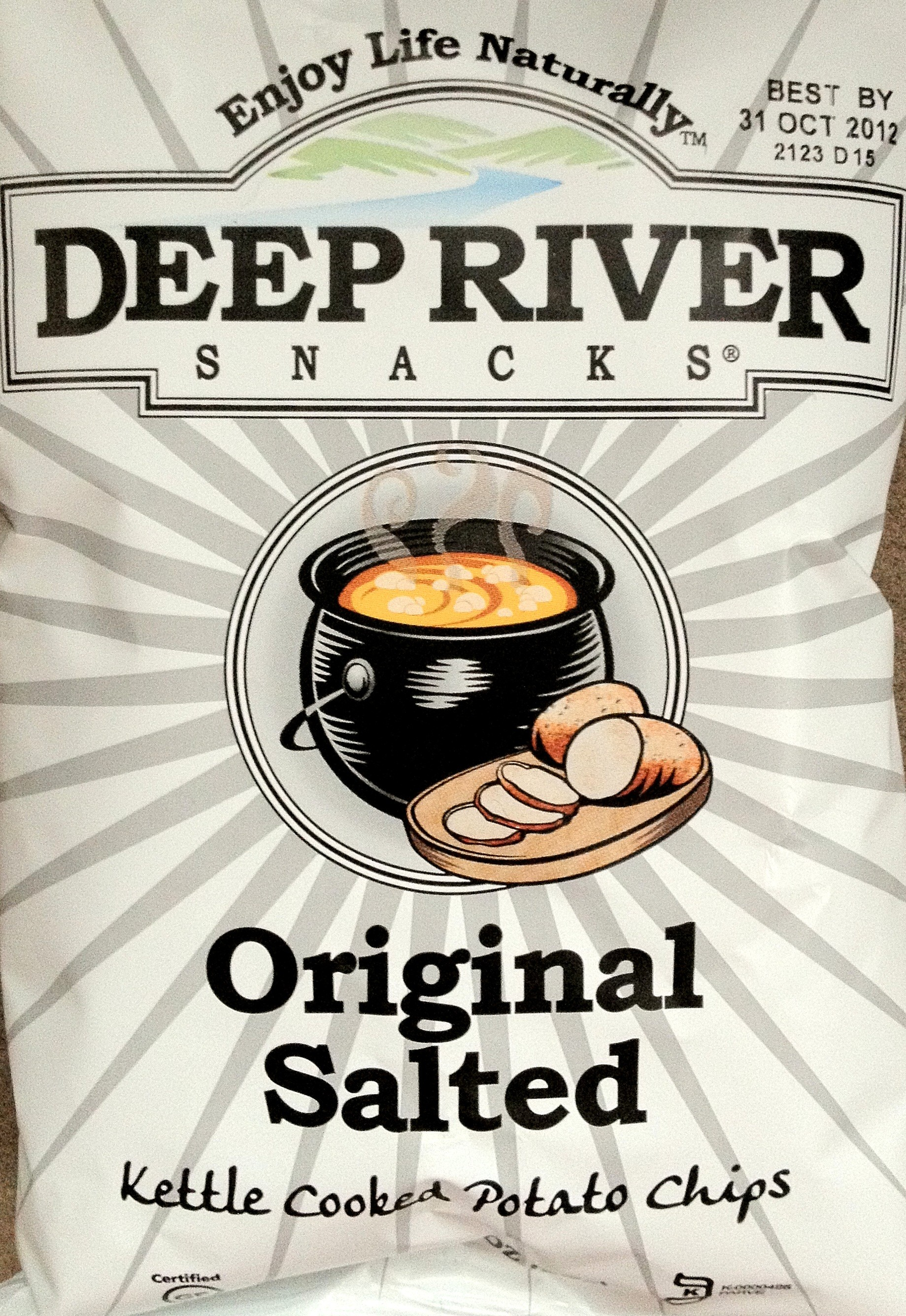 Deep River Snacks Original Salted