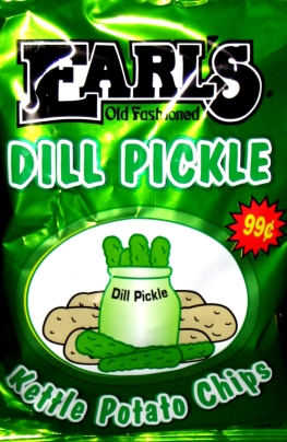Earl's Dill Pickle Kettle Chips