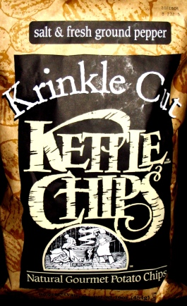 Kettle Chips Krinkle Cut Salt & Pepper