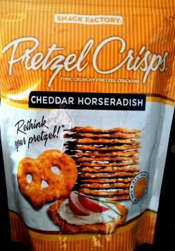 Pretzel Crisps - Cheddar Horseradish