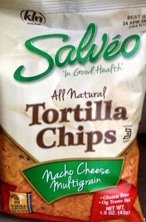 Salveo - Nacho Cheese Multigrain Tortilla Chips