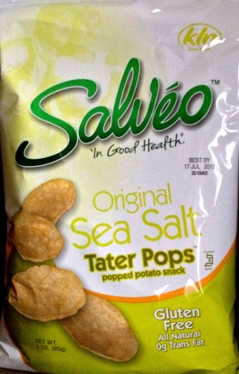 Salveo - Original Sea Salt Tater Chips