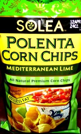 Solea - Mediterranean Lime Polenta Corn Chips