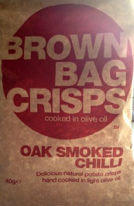 Brown Bag Crisps - Oak Smoked Chili