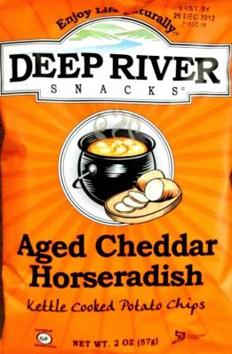 Deep River Snacks - Aged Cheddar Horseradish