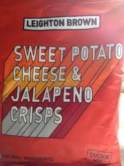 Leighton Brown - Sweet Potato Cheese & Jalapeno Crisps