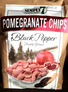 Simply 7 - Black Pepper Pomegrante Chips