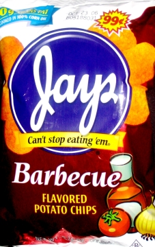 Jay's Barbecue Chips