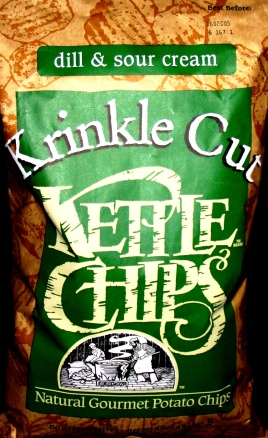 Kettle Chips Krinkle Cut Dill & Sour Cream