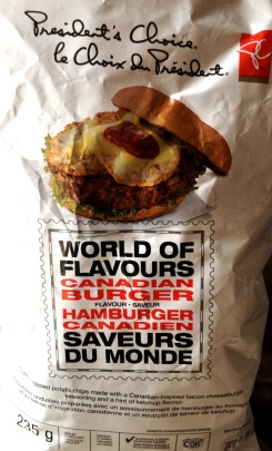 President's Choice - World of Flavours Canadian Burger