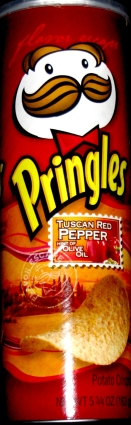 Pringles Roasted Red Pepper w Olive Oil