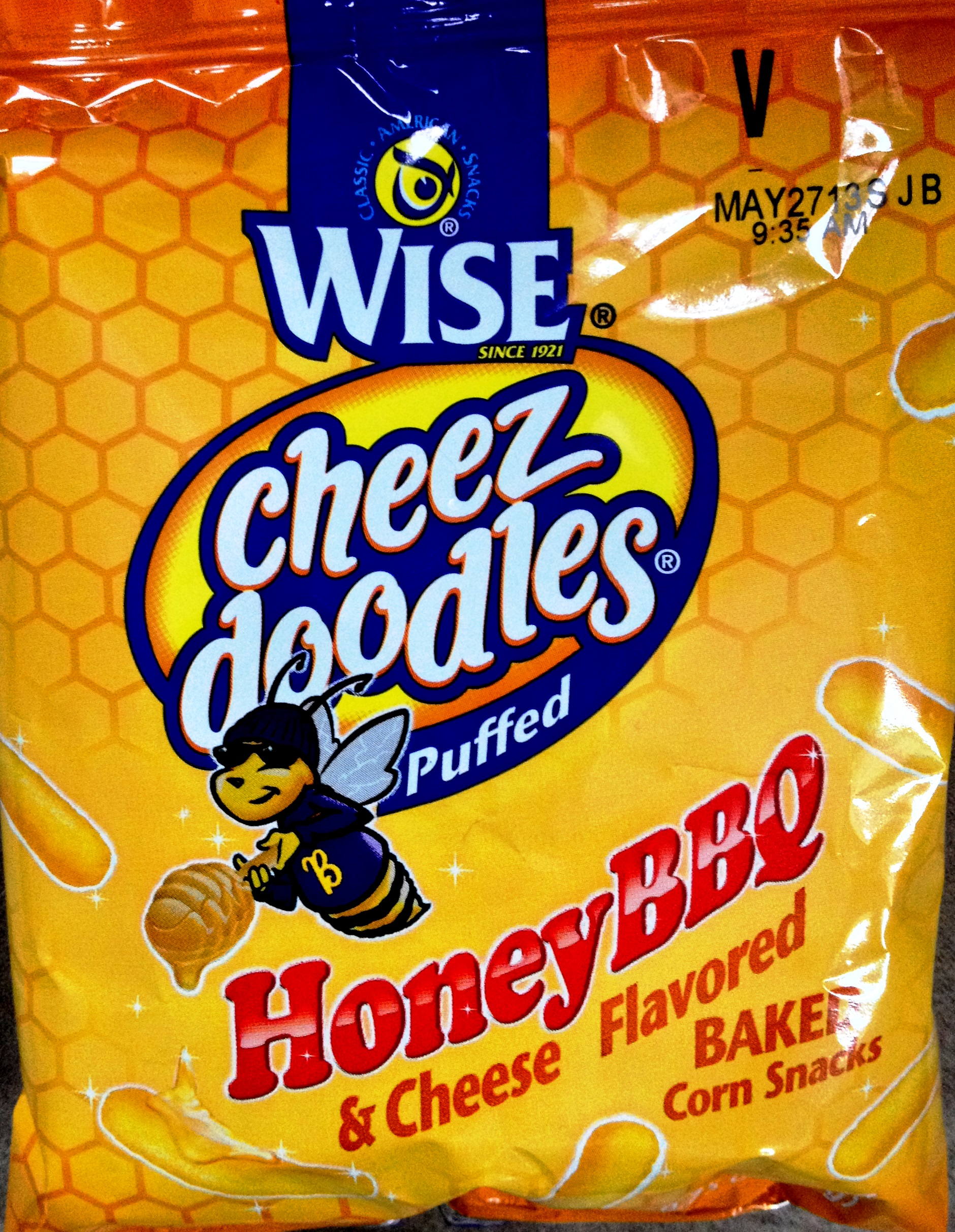 Wise – Honey BBQ & Cheese Puffed Cheez Doodles | Chip Review