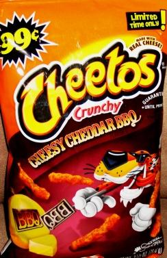 Cheetos - Cheddar BBQ