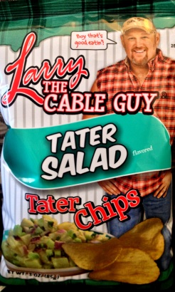 Larry The Cable Guy - Tater Salad Tater Chips
