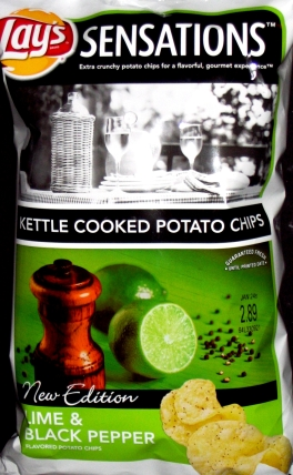 Lay's Sensations Lime & Black Pepper