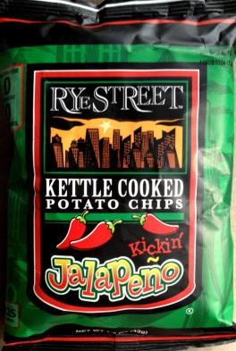 Rye Street - Kickin' Jalapeno Kettle Cooked Potato Chips