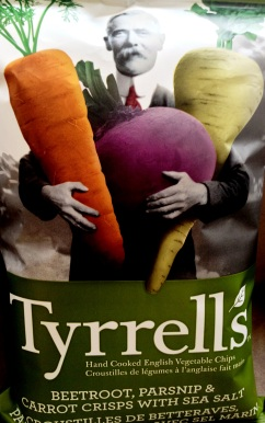 Tyrrell's - Beetroot, Parsnip & Carrot Crisps With Sea Salt