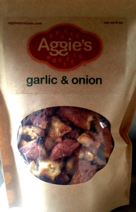 Aggie's Broken Pretzels - Garlic & Onion