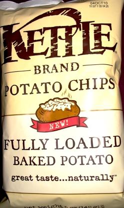 Kettle Chips - Fully Loaded Baked Potato