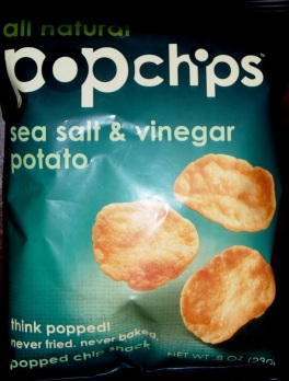 popchips - sea salt & vinegar potato