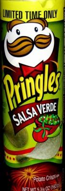 Pringles Salsa Verde