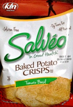 Salveo - Tomato Basil Baked Potato Chips