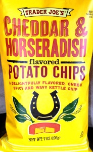 Trader Joe's - Cheddar & Horseradish Potato Chips